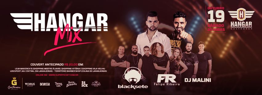 Hangar Mix com Blacksete